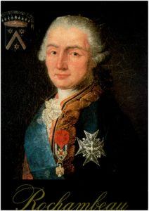 Portrait officiel du Maréchal de Rochambeau